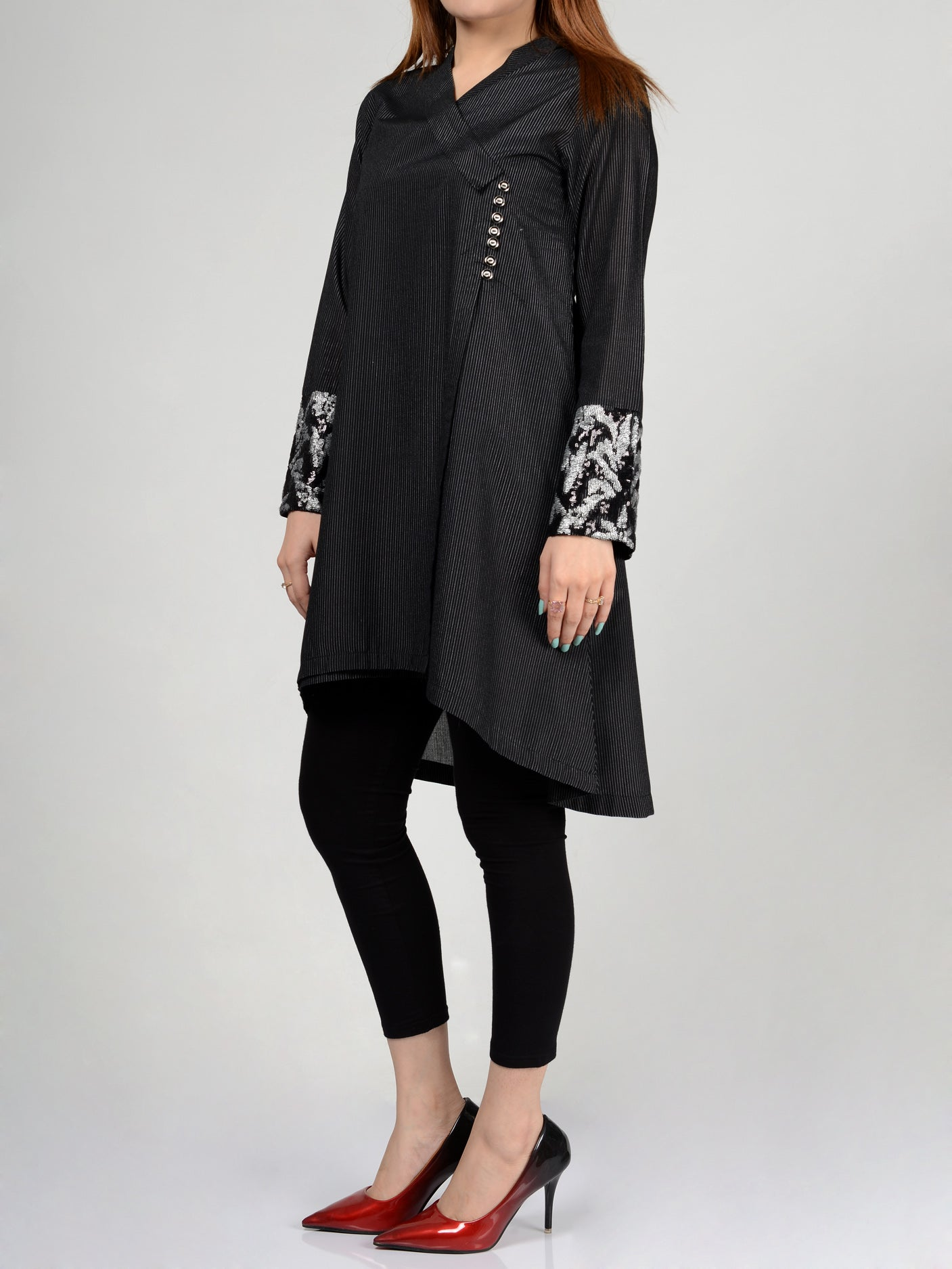 Buy Embellished Lawn Shirt P0238 Online in Pakistan | Limelight.pk
