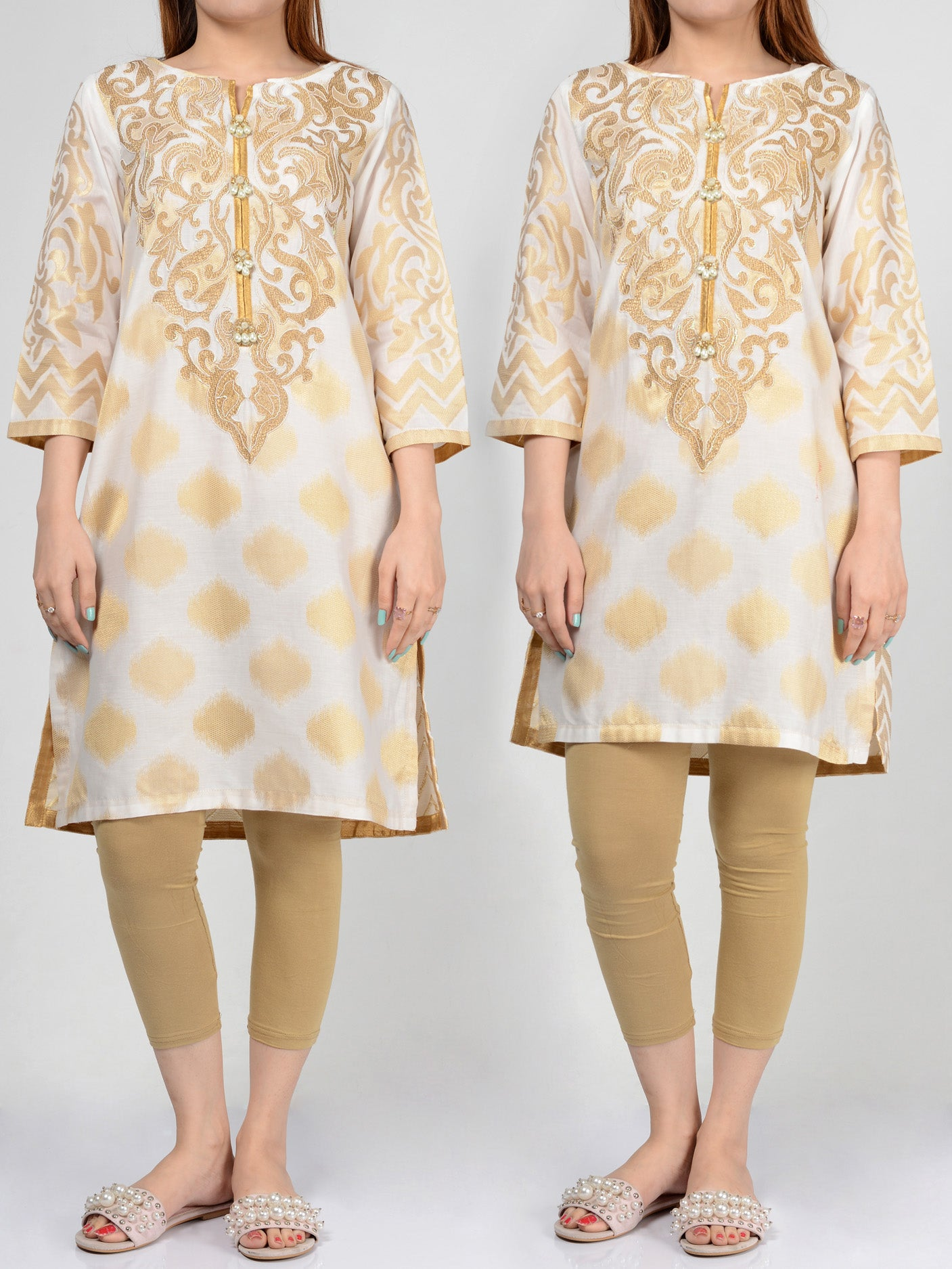 Limelight Pret Embroidered Jacquard Shirt p0248 buy Online in Pakistan | Limelight.pk