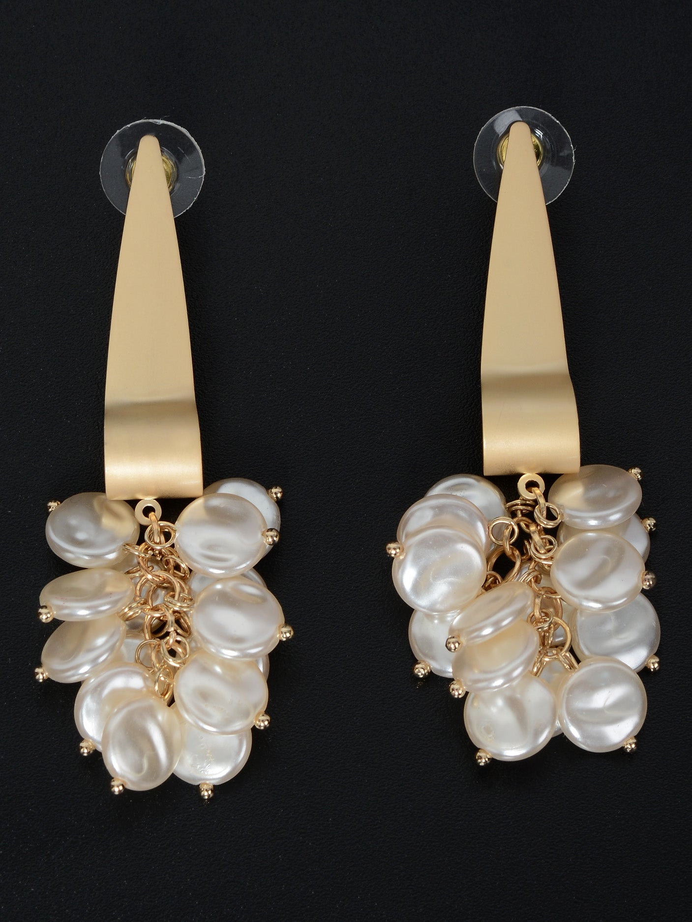 Pearl Bunched Earrings