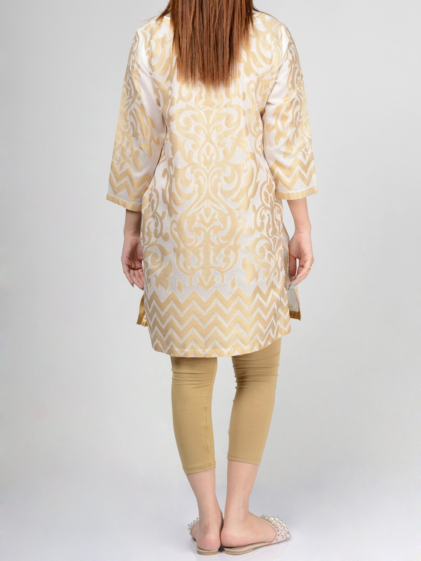 Limelight Pret Embroidered Jacquard Shirt p0248 shop Online in Pakistan | Limelight.pk