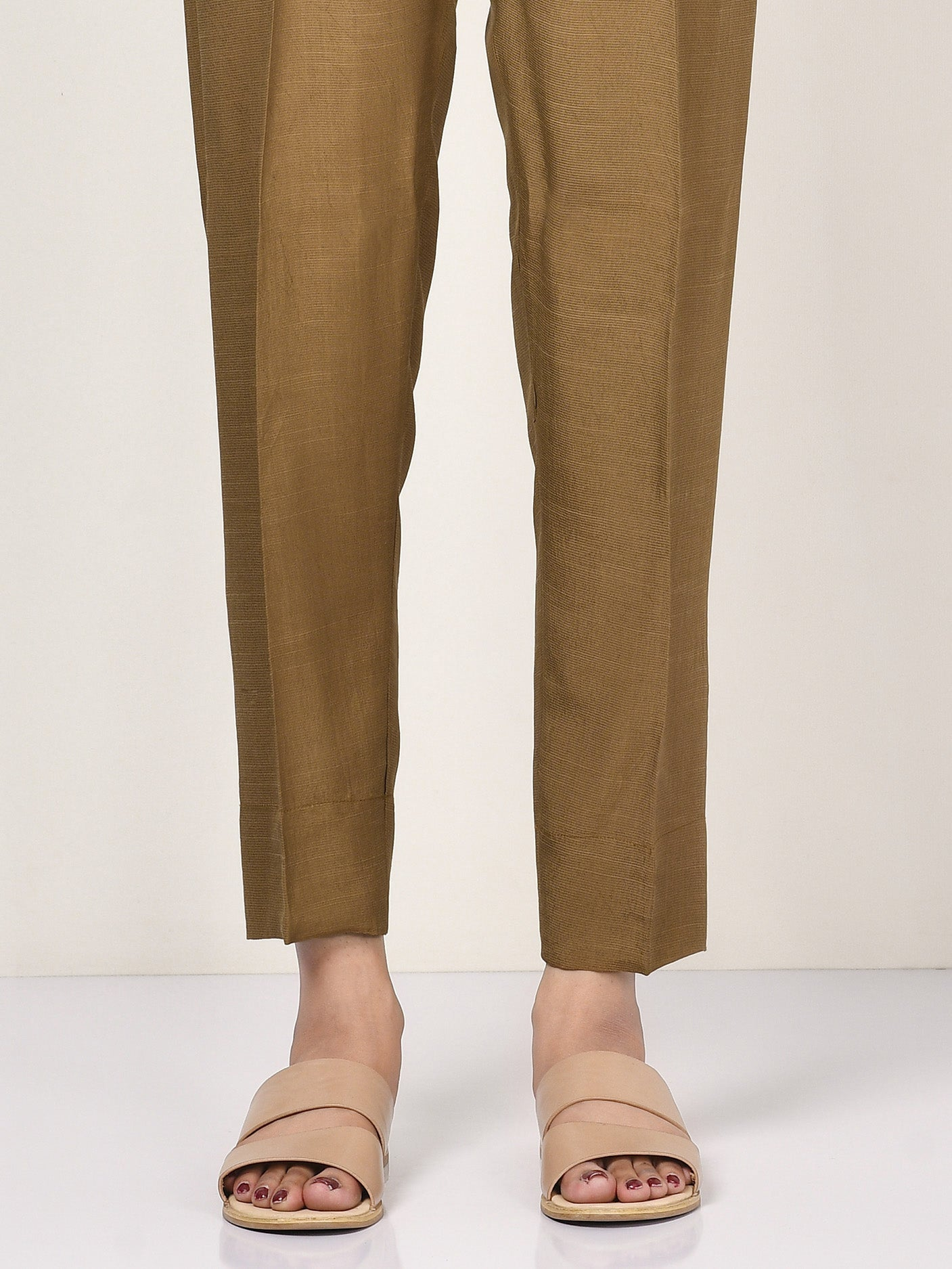 Raw Silk Trouser
