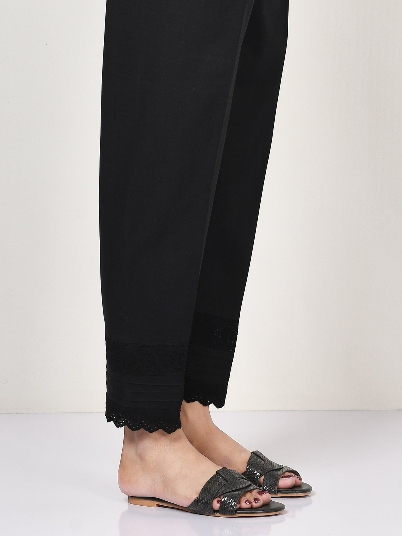 Laced Cambric Trouser