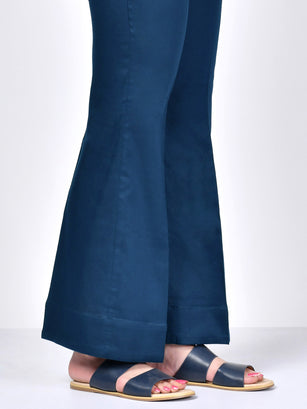 Bootcut Pants-Peacock Blue