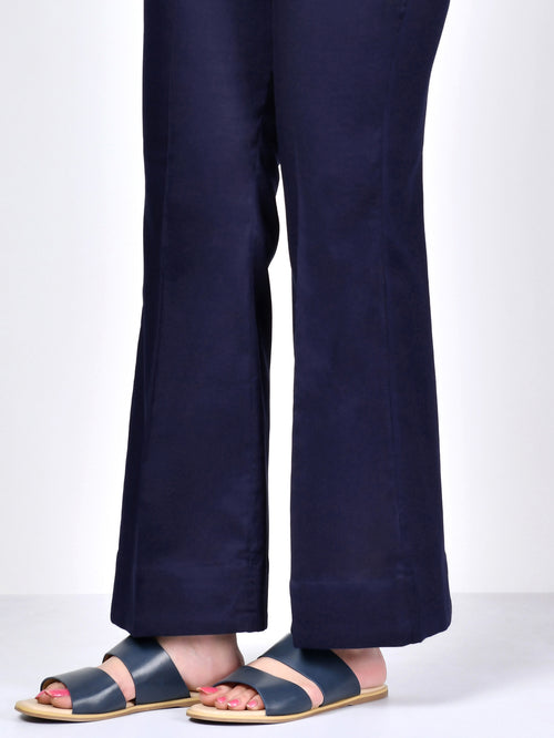 Bootcut Pants-Dark Navy