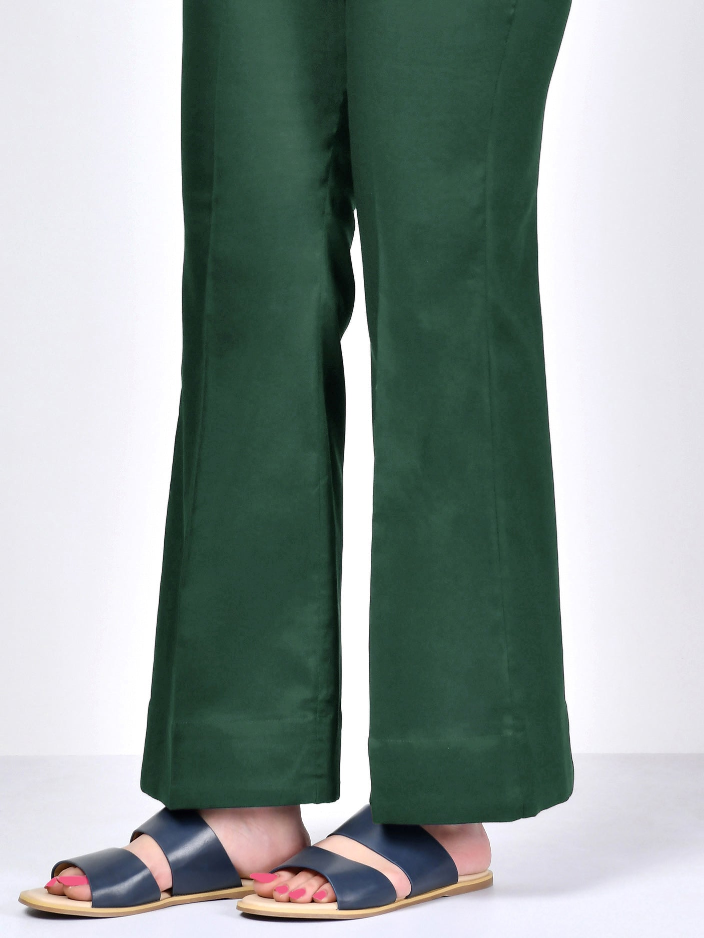 Winter Cotton Pants - Green