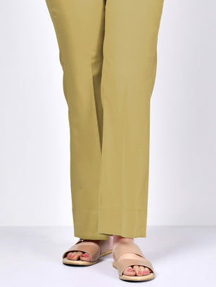 Bootcut Pants-Yellow