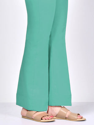 Bootcut Pants-Turquoise