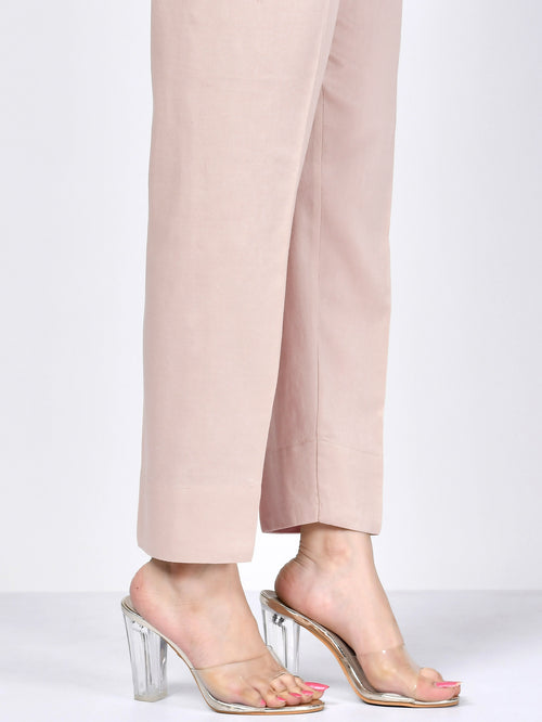 Straight Trouser - Baby Pink
