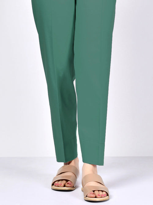 Winter Cotton Trouser - Sea Green