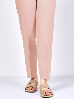 Straight Trouser-Peach