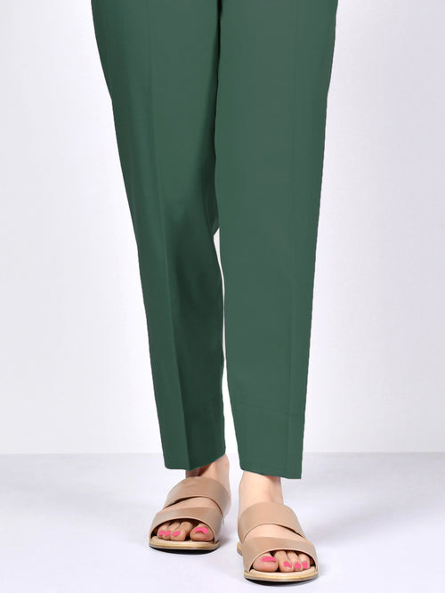 Winter Cotton Trouser - Green