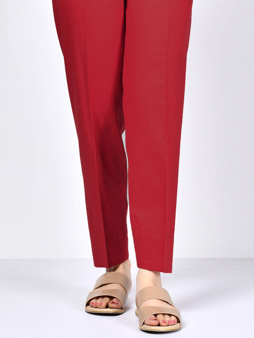 Winter Cotton Trouser - Red
