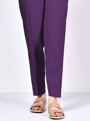 Straight Trouser-Purple