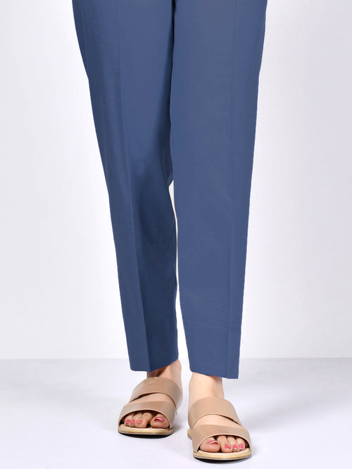 Winter Cotton Trouser - Light Blue