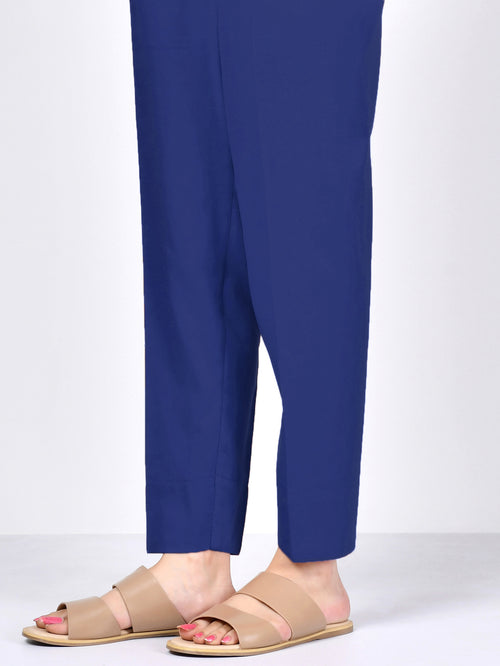 Winter Cotton Trouser - Blue
