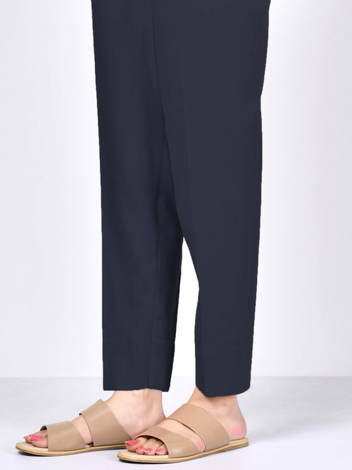 Winter Cotton Trouser - Dark Navy