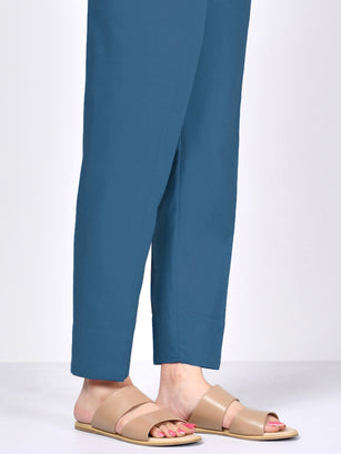 Cambric Trouser- Ferozi