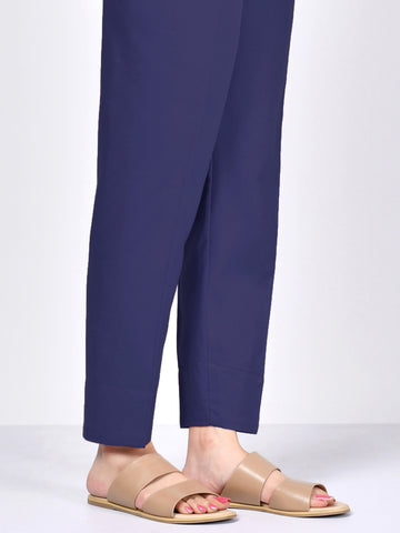 Straight Trouser - Blue