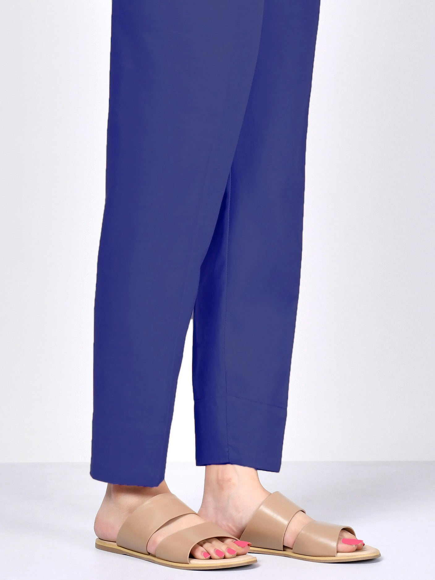 Winter Cotton Trouser - Royal Blue
