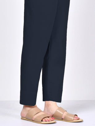 Straight Trouser - Dark Blue