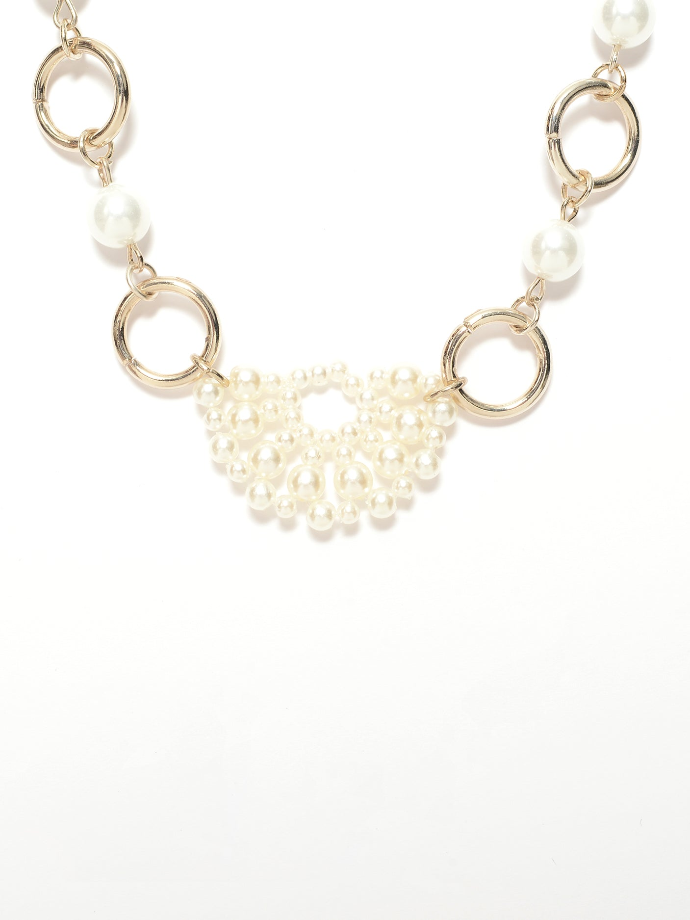 Pearl Rings Necklace