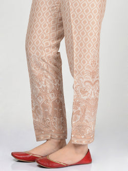 Satin Printed Trouser