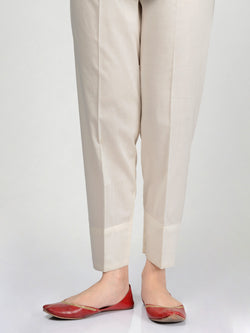 Straight Trouser-Off-White