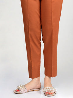 Straight Trouser-Rust