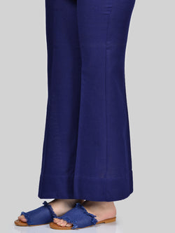 Bootcut Pants-Royal Blue