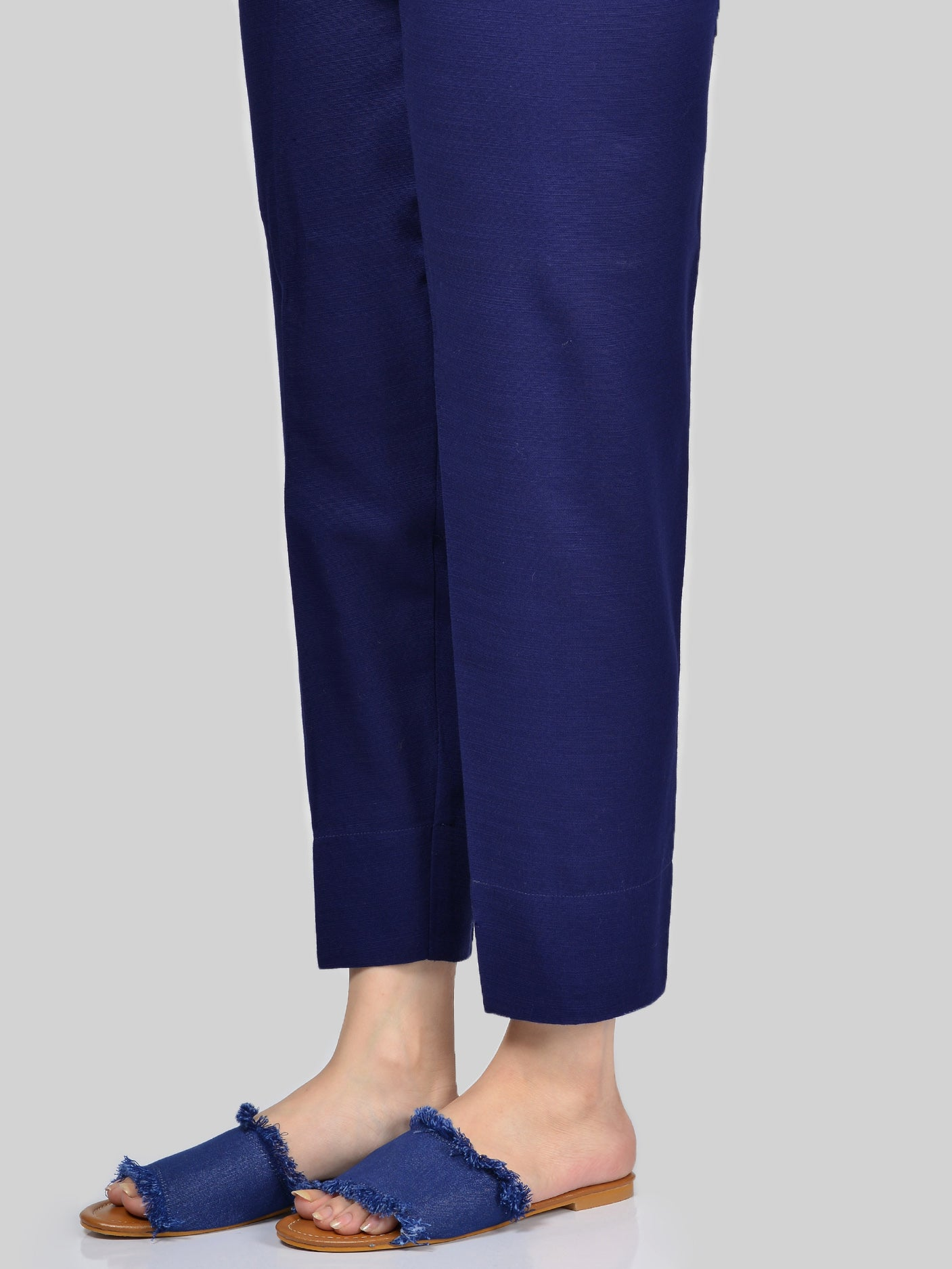 Straight Trouser-Royal Blue