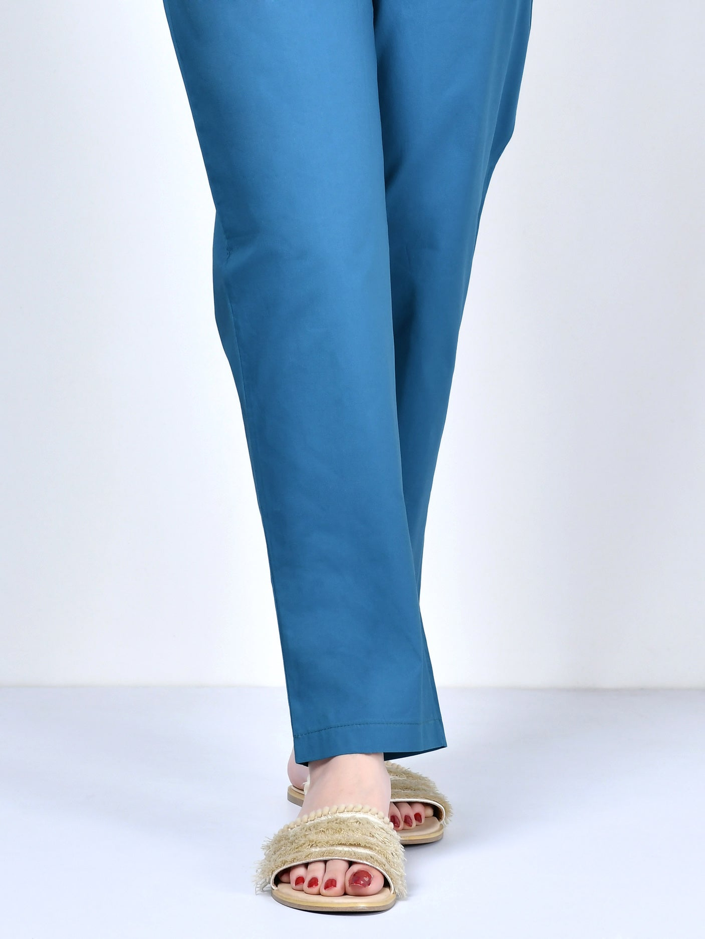 Pocketed Trouser-Teal