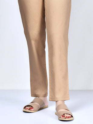 Pocketed Trouser-Light Brown