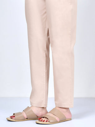 Pocketed Trouser-Light Beige