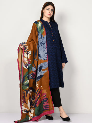 Printed Winter Cotton Suit