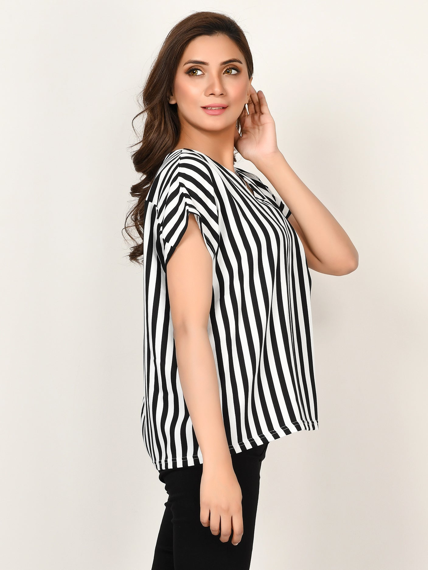 Striped Grip Top