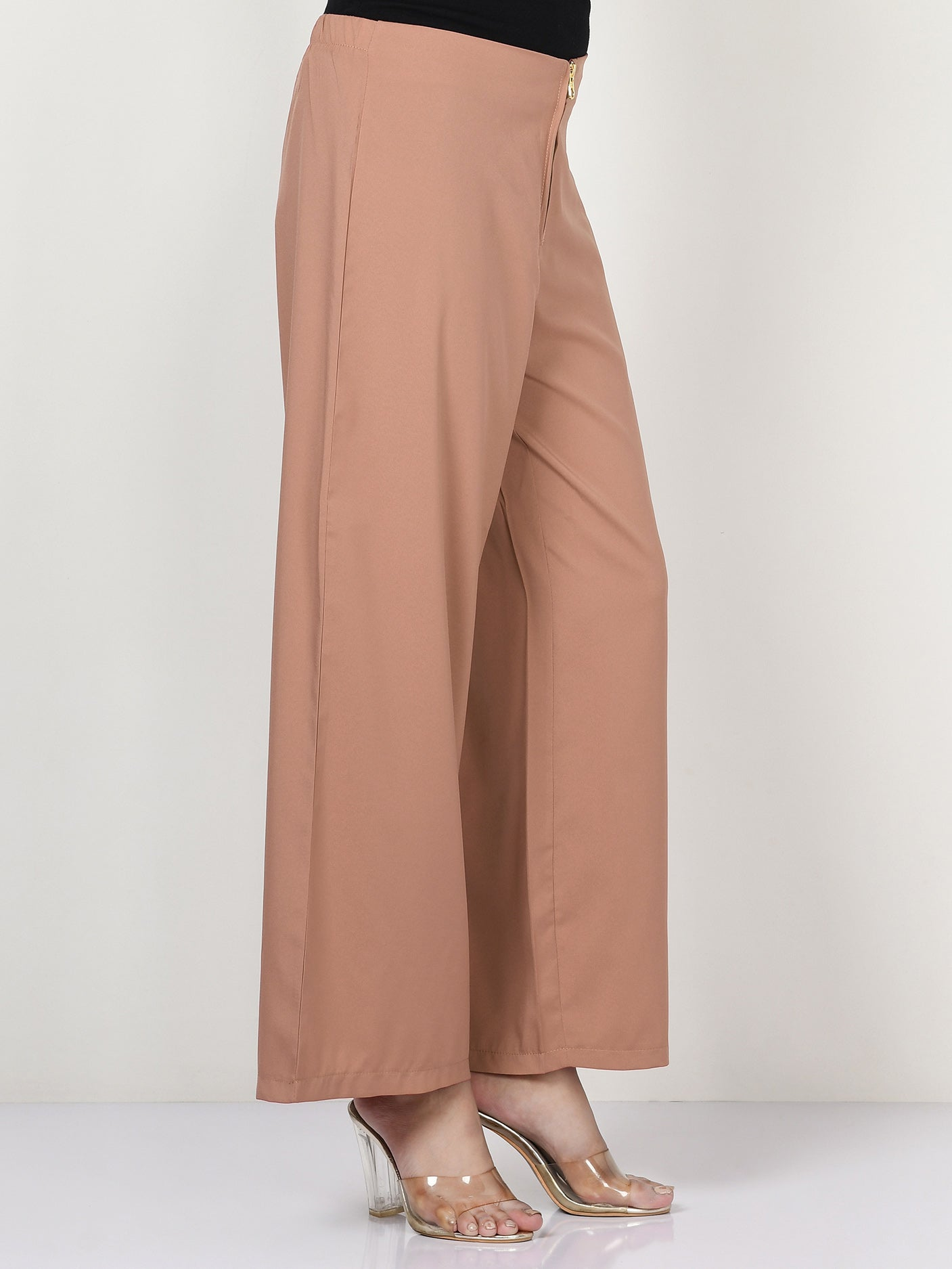 Wide Grip Pants - Skin