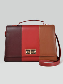 Three-Toned Handbag