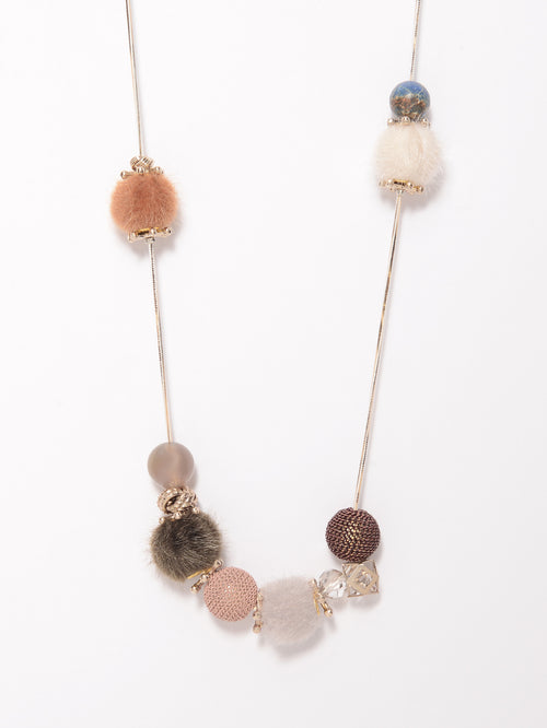 Fur Balls Necklace