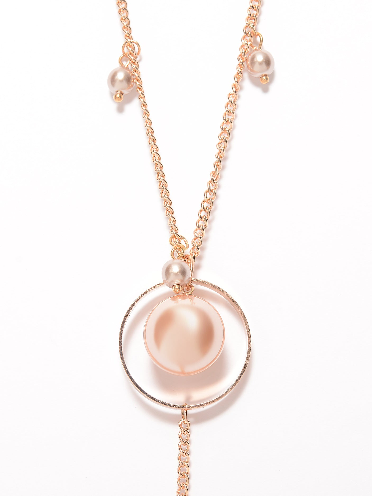 Pearl Ring Necklace