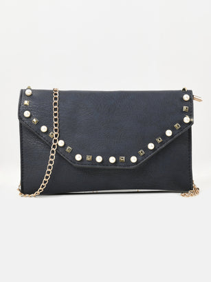 Pearl Studded Clutch
