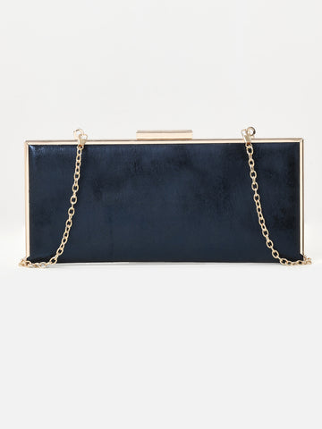 Rectangle Shimmer Clutch