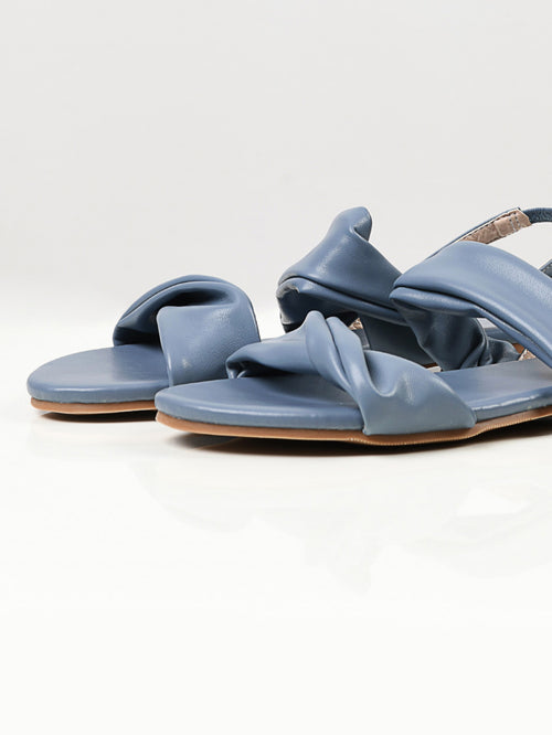 Plain Sandals - Dark Ferozi