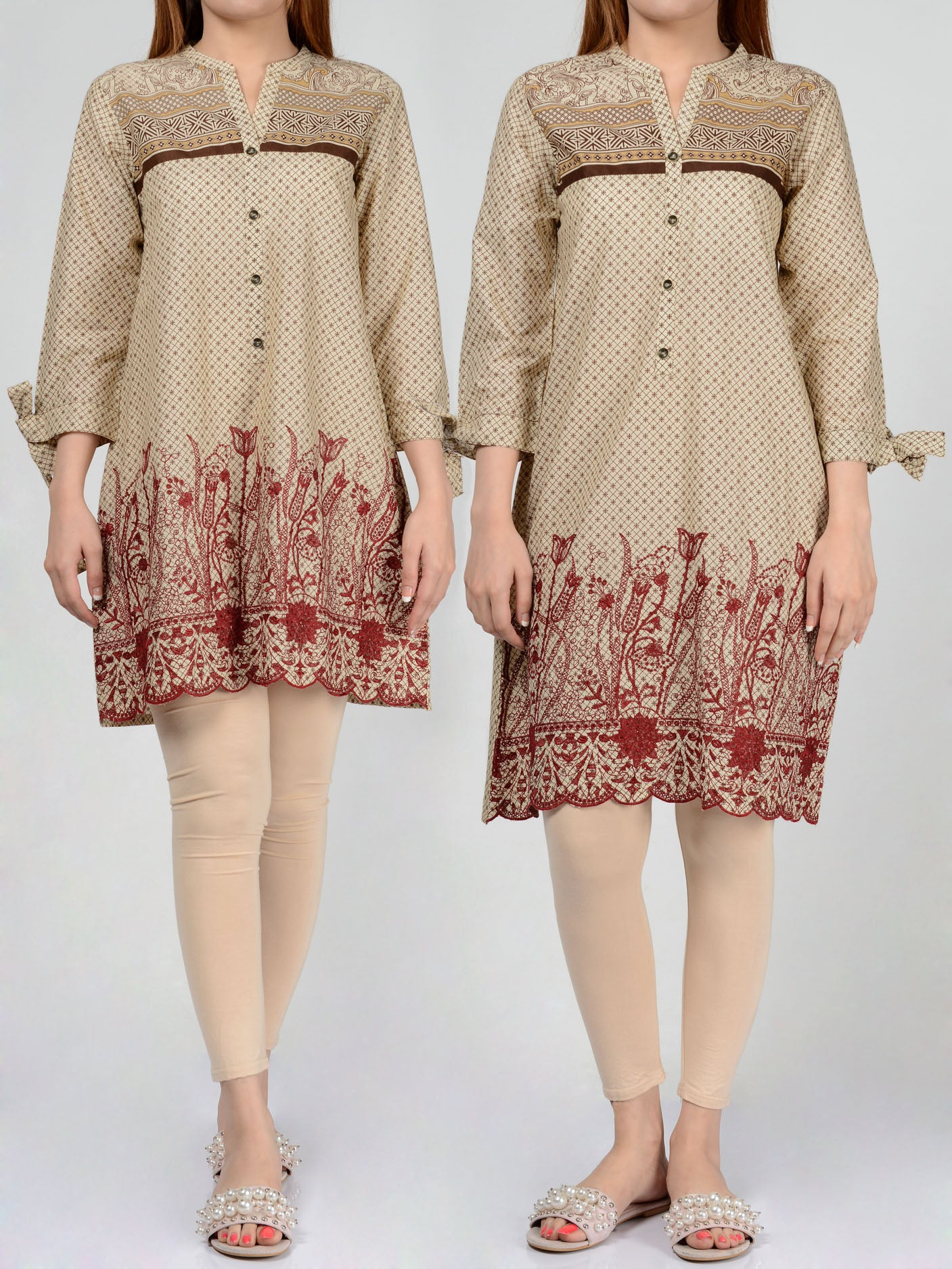 Pret Embroidered Lawn Shirt F1440 Online