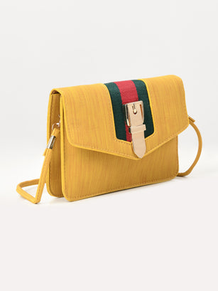 Buckle Stripe Bag
