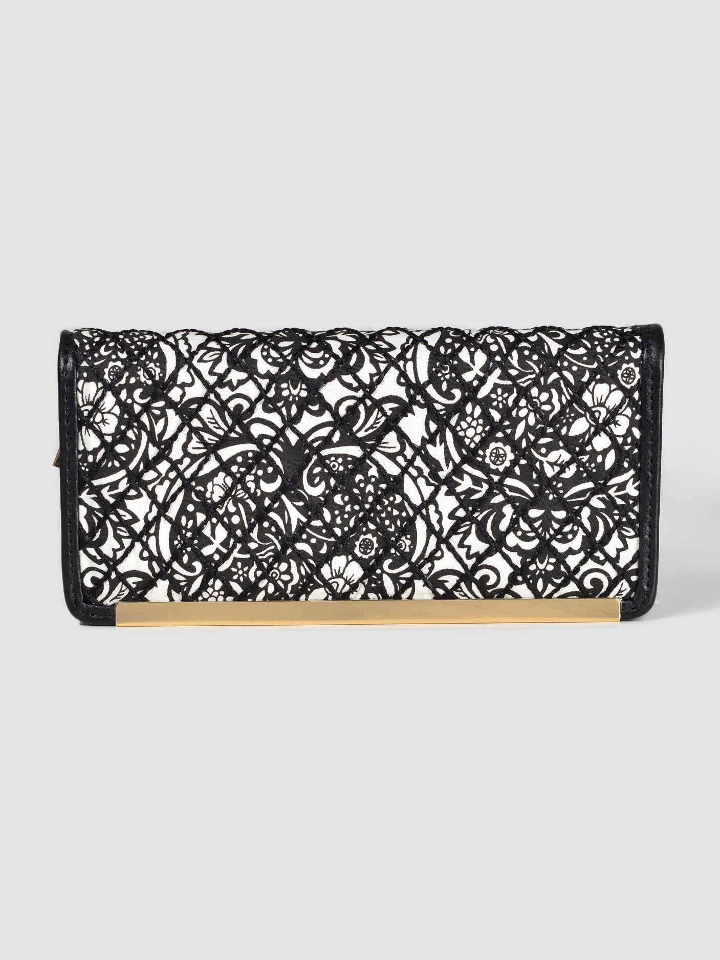 Printed Zip Wallet