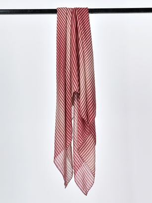 Striped Weave Scarf
