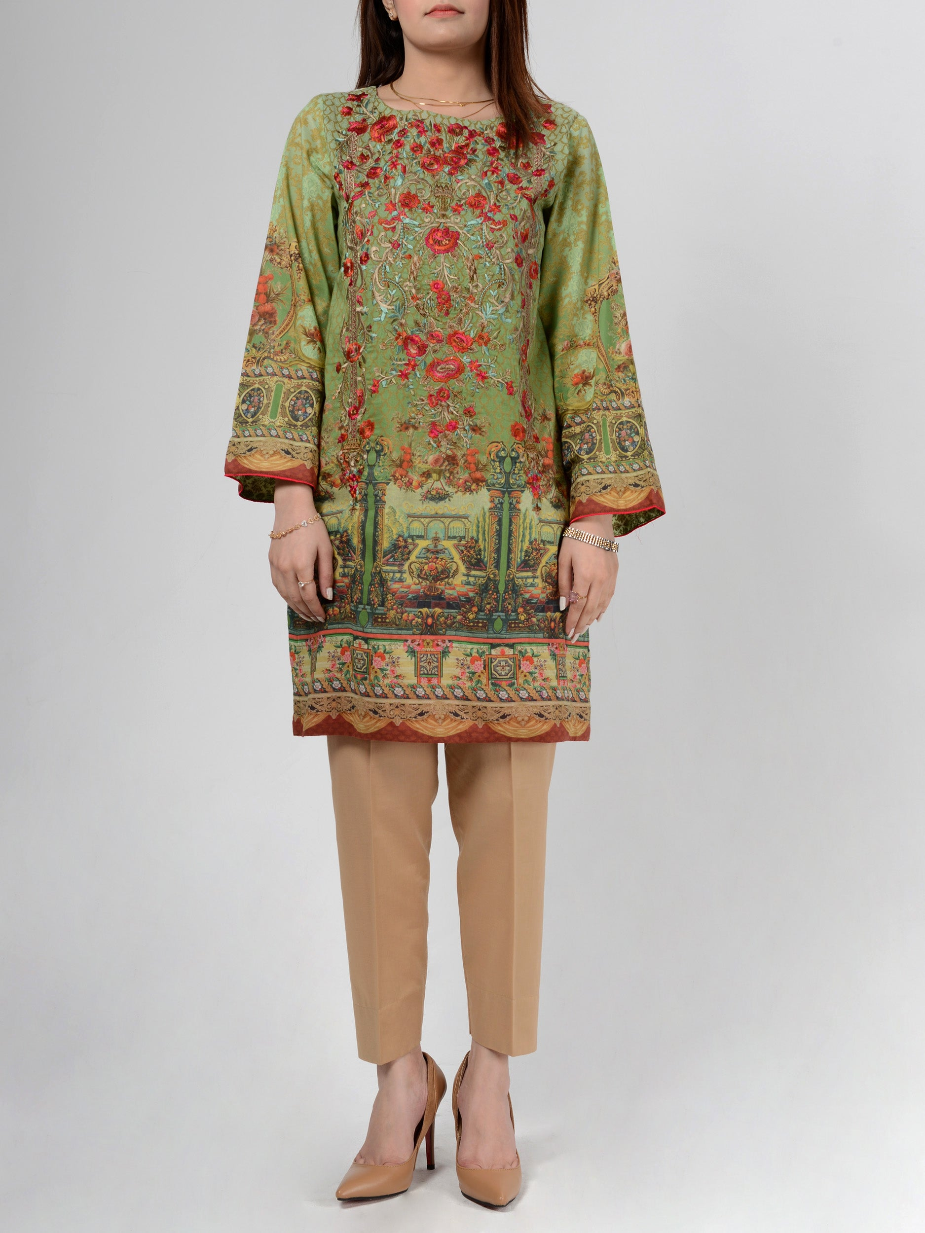 Embroidered Lawn Shirt
