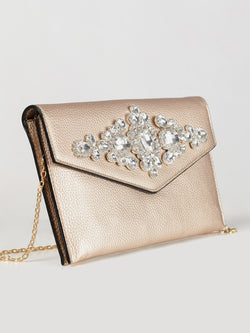 Diamante Embellished Clutch