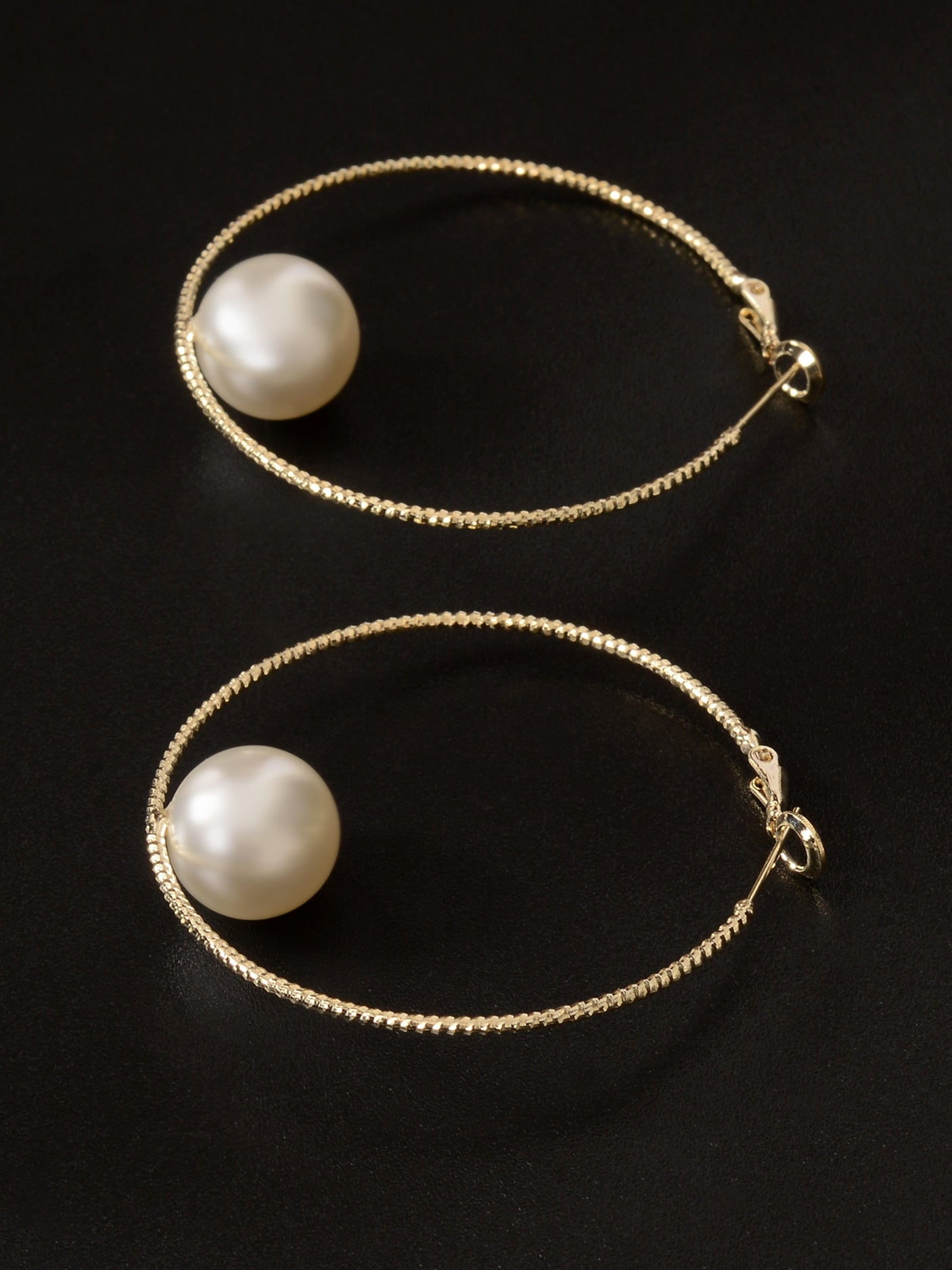 Pearl Finished Hoops