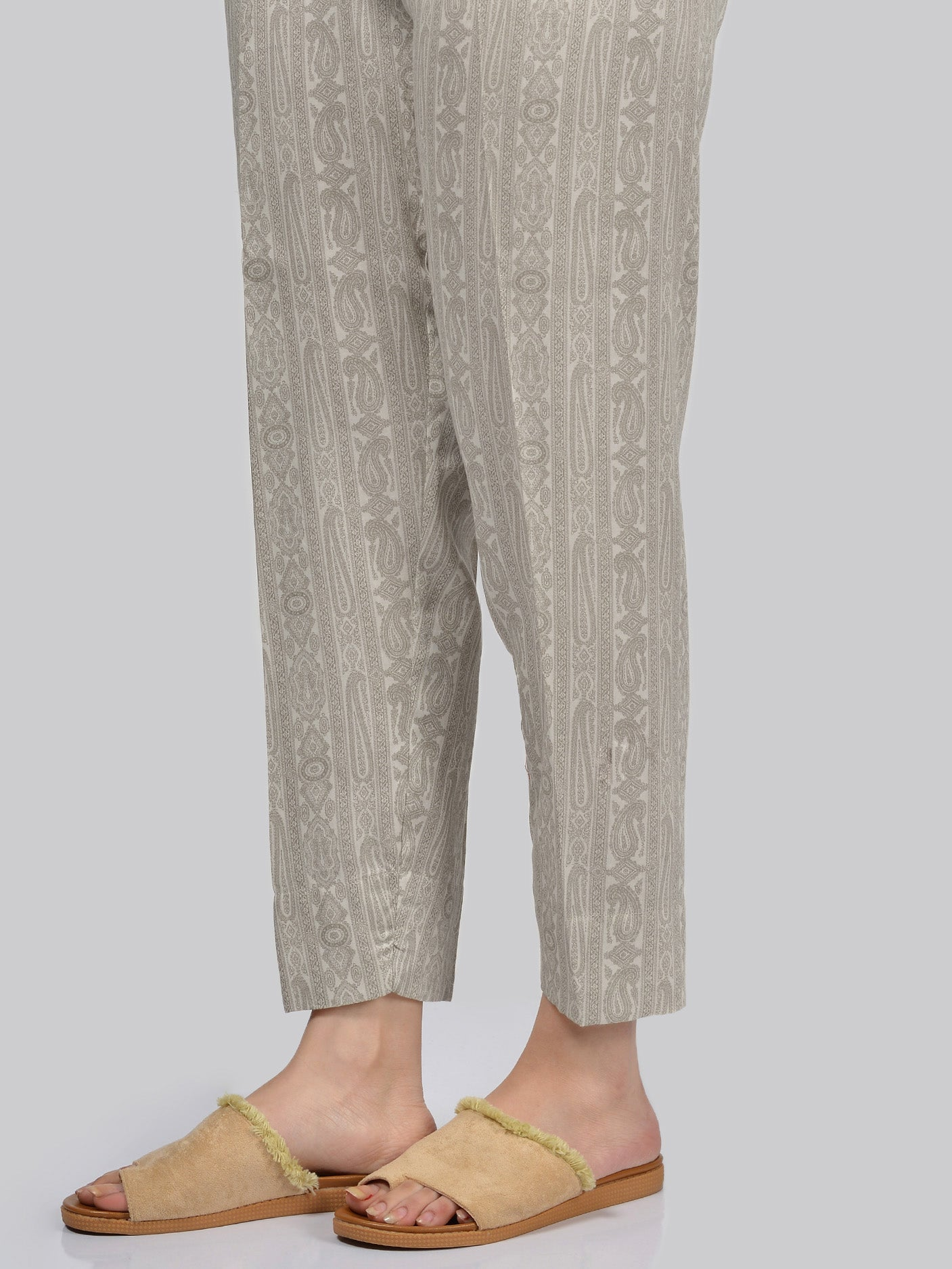 Printed Cotton Trouser